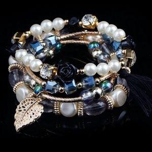 Black Boho Bracelets